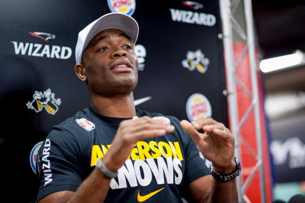 Anderson Silva Announces 2015 Return, Predicts Machida vs. Weidman