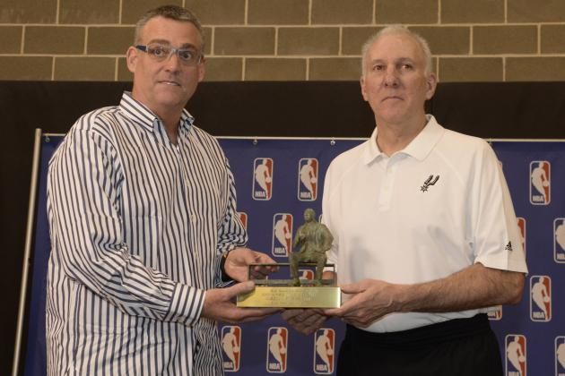 Spurs' R.C. Buford Named NBA Executive of the Year
