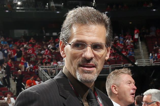 Flyers Promote Hextall to GM, Holmgren to Pres.