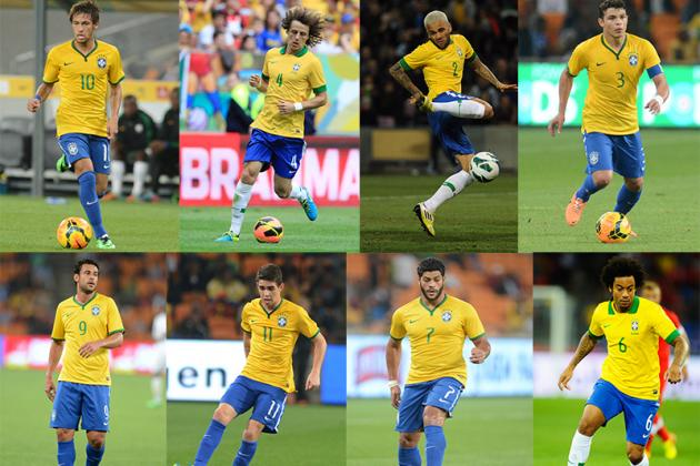 Brazil World Cup Roster 2014: Full 30-Man Squad and Starting 11 Projections