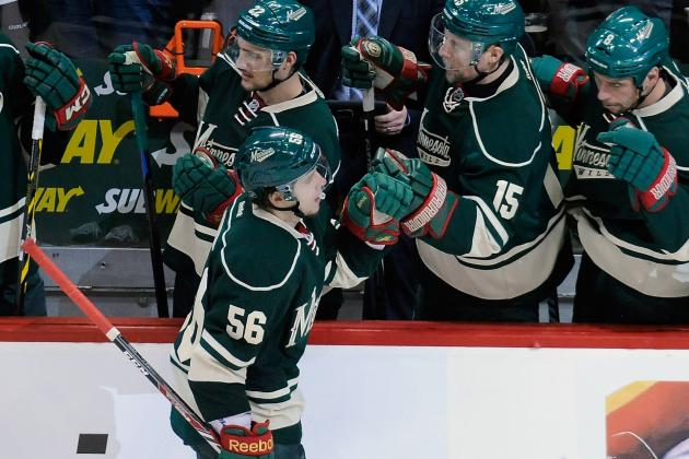 Erik Haula Continues to Play Huge Role for Minnesota Wild