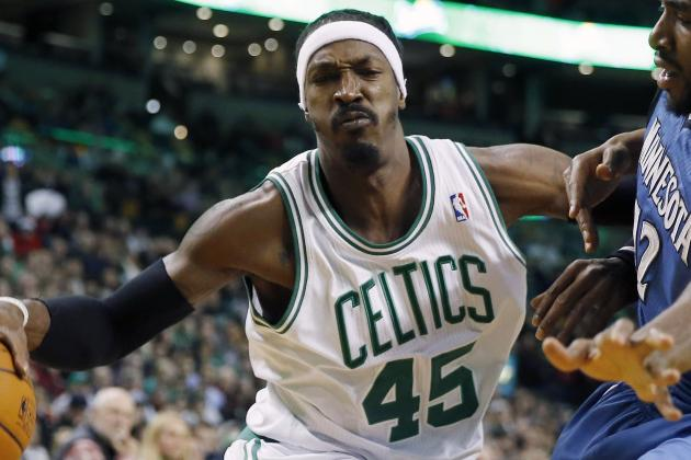 Gerald Wallace Assumes Role as Emotional Leader on Rebuilding Celtics