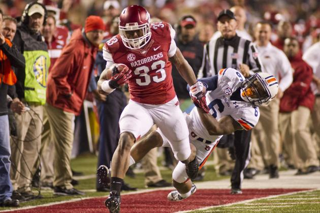 Arkansas' RB Corps Will Be One of SEC's Best in 2014