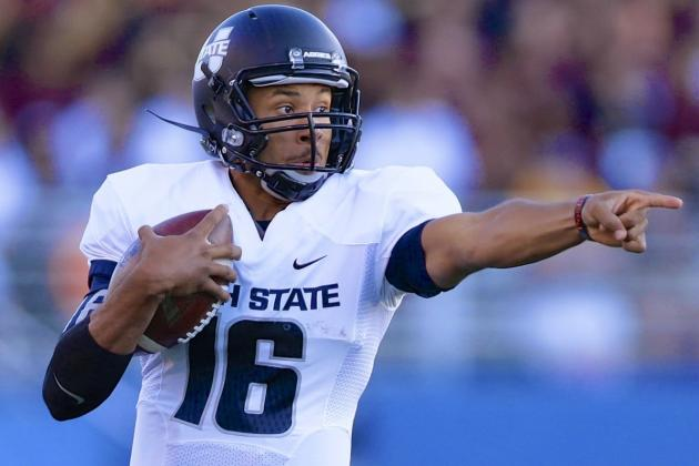 The Return of Utah State Quarterback Chuckie Keeton, CFB's Most Exciting Talent