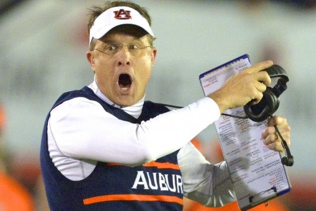 Auburn Head Coach Gus Malzahn: 'We Have to Be 13 Seconds Better'