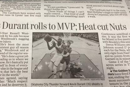 Newspaper Makes Cringeworthy Typo About Brooklyn Nets After Loss to Miami Heat