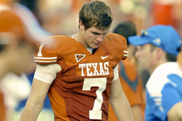 'Hearing Boos Again' One of Reasons QB Garrett Gilbert Transferred from Texas