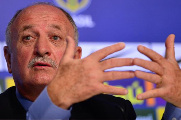 Kaka, Coutinho Miss World Cup as Scolari Sticks with Well-Known Brazil Family