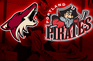 Coyotes Sign One-Year Affiliation Extension with Portland of the AHL