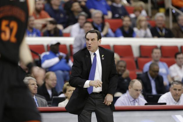 Duke Basketball: Projecting Blue Devils' 2014-15 Starting Lineup