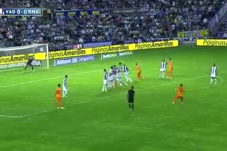 Sergio Ramos Scores Free-Kick Golazo for Real Madrid vs. Real Valladolid