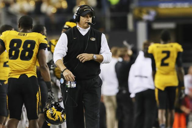 "Mizzou Coach Gary Pinkel Says Kansas Still ""Pouting"" About Rivalry Ending"