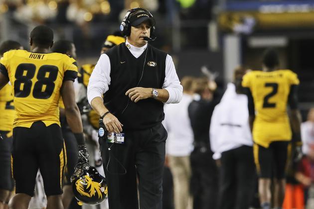 "Mizzou Coach Gary Pinkel Says Kansas Still ""Pouting"" About Rivalry Ending"