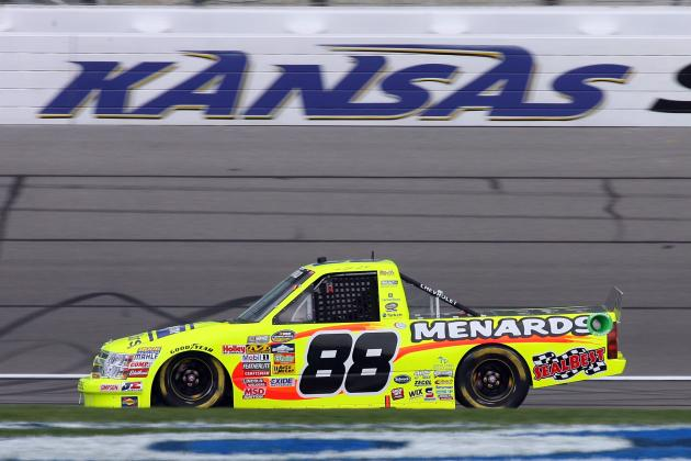 NASCAR Truck Series at Kansas 2014: Full Schedule, Standings and SFP 250 Preview