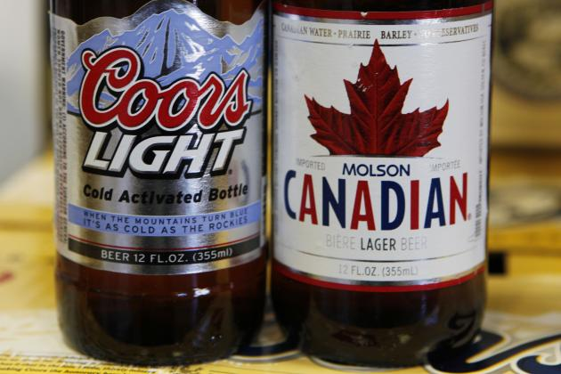 Habs Only Team Left Driving Molson Coors Sales