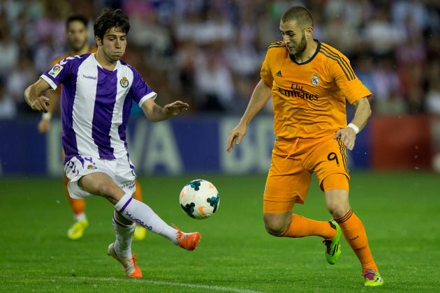 Real Valladolid vs. Real Madrid: Live Player Ratings for Los Blancos