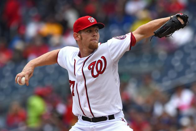 Strasburg Gets Win as Nats Top Dodgers 3-2