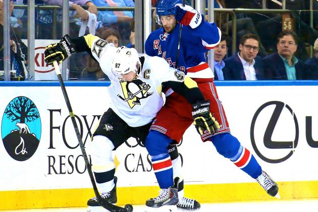 Pittsburgh Penguins vs. New York Rangers Game 4: Live Score and Highlights
