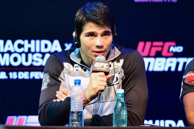 UFC Fight Night: Erick Silva Looking to Win Battle of Aggression with Matt Brown