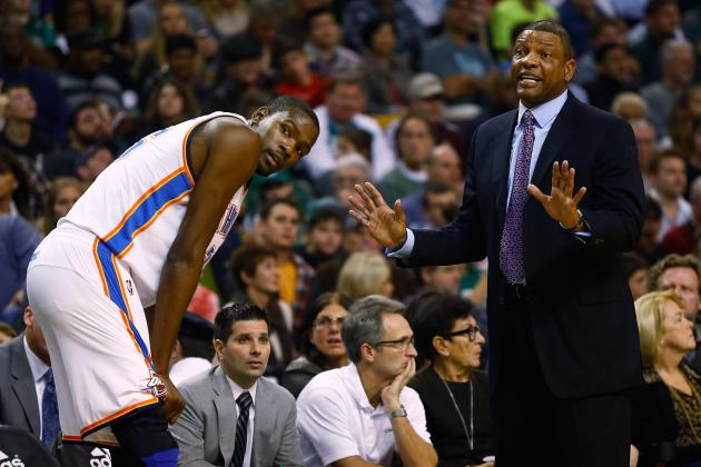 Doc Rivers Praises Kevin Durant's MVP Acceptance Speech as 'Great'