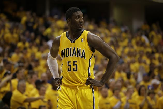 Dikembe Mutombo: Georgetown Greats Should Help Roy Hibbert Fix 'Shocking' Woes
