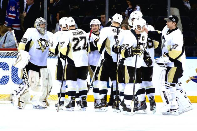 Rangers vs. Penguins: Game 4 Score and Twitter Reaction from 2014 NHL Playoffs