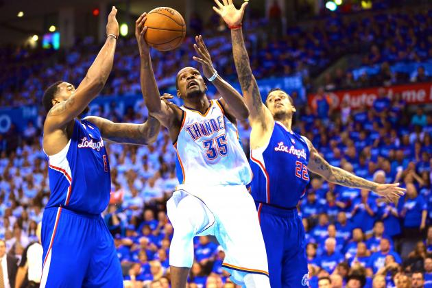 Clippers vs. Thunder: Game 2 Score and Twitter Reaction from 2014 NBA Playoffs