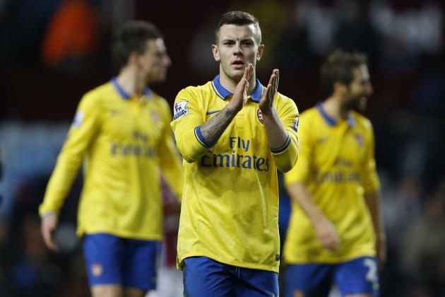 Premier League Injury News, Fantasy Impact: Jack Wilshere Back for Arsenal