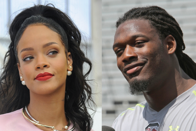 Jadeveon Clowney Speaks on His Celebrity Crush, Says He's 'Coming' for Rihanna