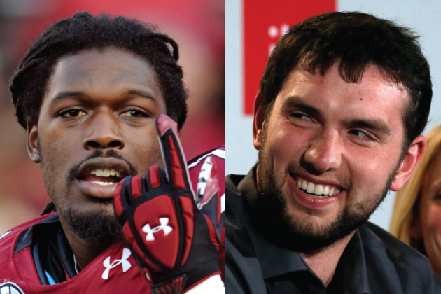 Jadeveon Clowney Says Andrew Luck Should 'Have His Head on a Swivel'