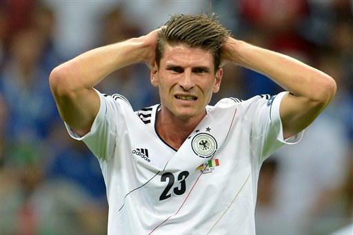 Mario Gomez Delivers Emotional Message After Left off Germany's World Cup Squad