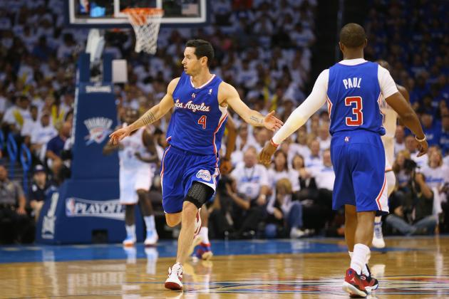 Dealing with Clippers Guard J.J. Redick Is the Thunder's Secret Challenge