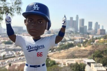 Yasiel Puig Bobblehead's to Be Handed out Tuesday Night vs. MIA
