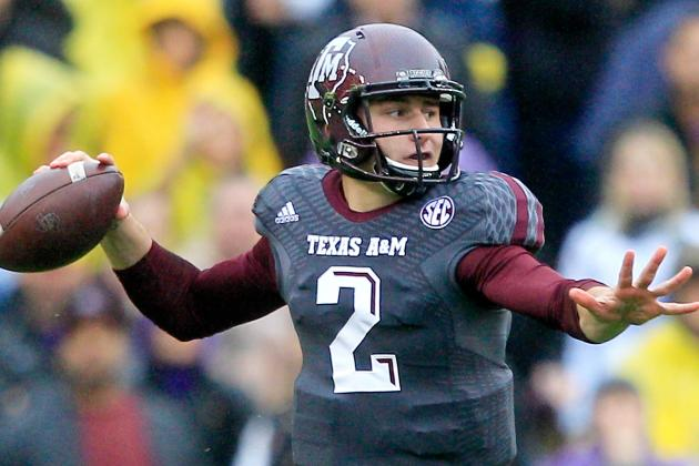 Johnny Manziel NFL Draft 2014: Highlights, Scouting Report for Browns QB