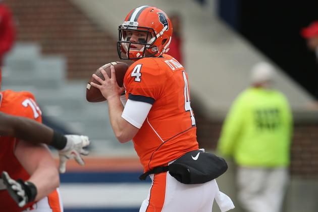 Illini May Be Thrown for a Loss in Draft