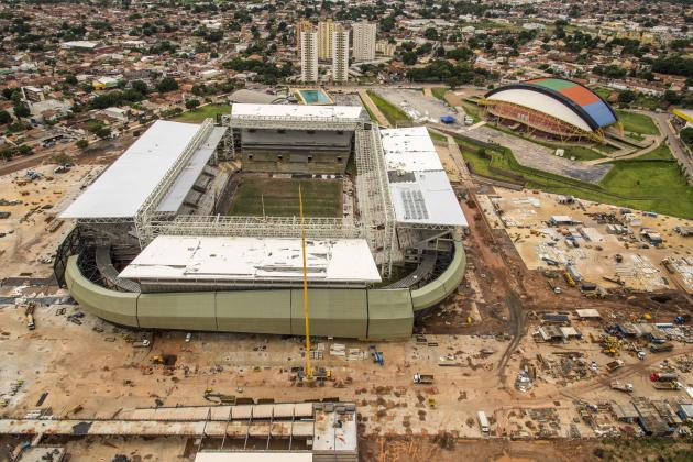 Worker Dies in Accident at 2014 World Cup Stadium in Cuiaba