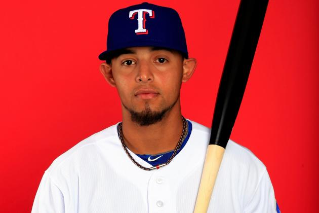 Rangers Turn to Prospect Rougned Odor at Second Base