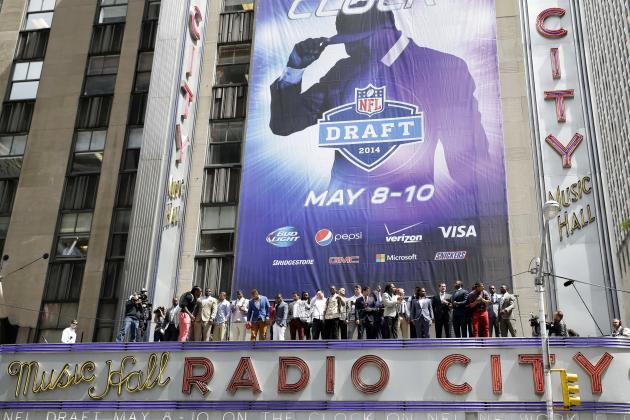 NFL Draft Order 2014: Full Selection List for Rounds 2-7 and Round 1 Results