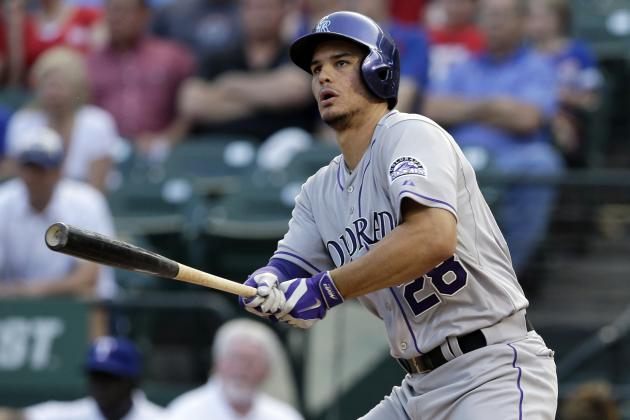 Rockies' Nolan Arenado Extends Hit Streak to Franchise-Best 27 Games