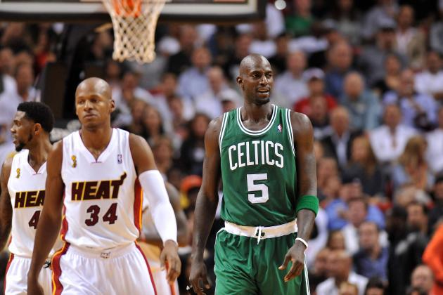 Ray Allen and Kevin Garnett Haven't Spoken in Two Years