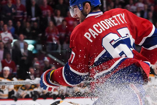 Video: Pacioretty Shaken Up by Iginla Hit