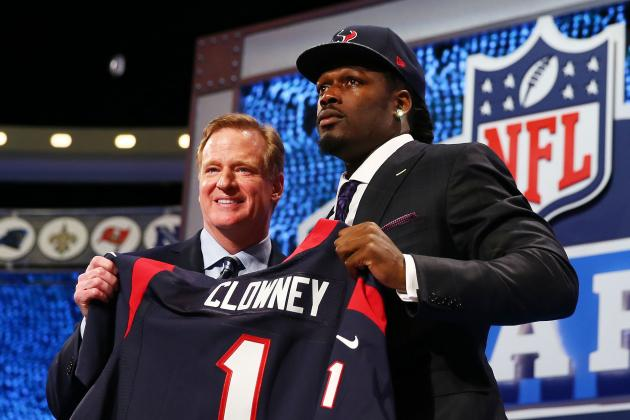 Twitter Reacts as Jadeveon Clowney Is Selected by Texans in 2014 NFL Draft