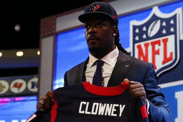 Jadeveon Clowney's Full Rookie-Season Projections with Houston Texans