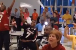 Video: Jadeveon Clowney's High School Erupts When He's Drafted No. 1