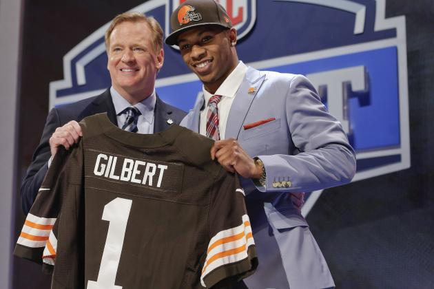 Cleveland Browns Select Justin Gilbert After Trade with Minnesota Vikings