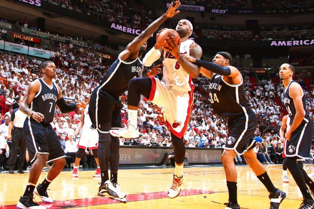 Nets vs. Heat: Game 2 Score and Twitter Reaction from 2014 NBA Playoffs