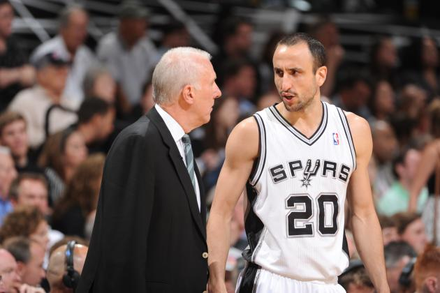 Gregg Popovich Has 'Always Felt Guilty' About Moving Manu Ginobili to Sub Role