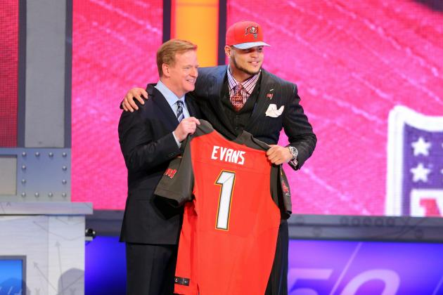 Mike Evans' Full Rookie-Season Projections with Tampa Bay Buccaneers