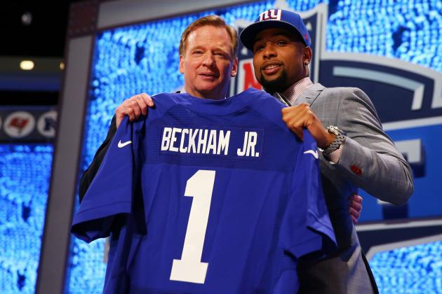 Giants Make Uncharacteristic Draft Mistake Taking Odell Beckham over DL Help