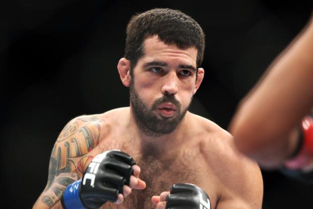 The Only Fight That Matters to Matt Brown Is the One Right in Front of Him
